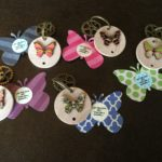 2017 butterfly keychains for Lap the Gats