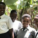 Kisaruni school girls, 2017