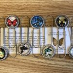 2018 butterfly bookmarks