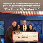 Myers Automotive Amazing Kids 0 in support of The Butterfly Project